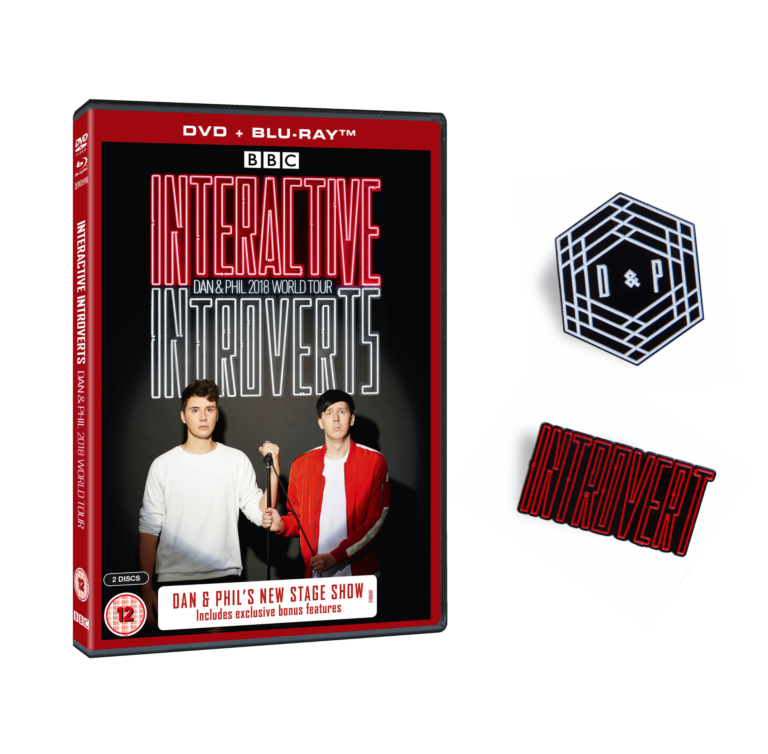Interactive Introverts DVD + Blu-Ray (with Pin Set)