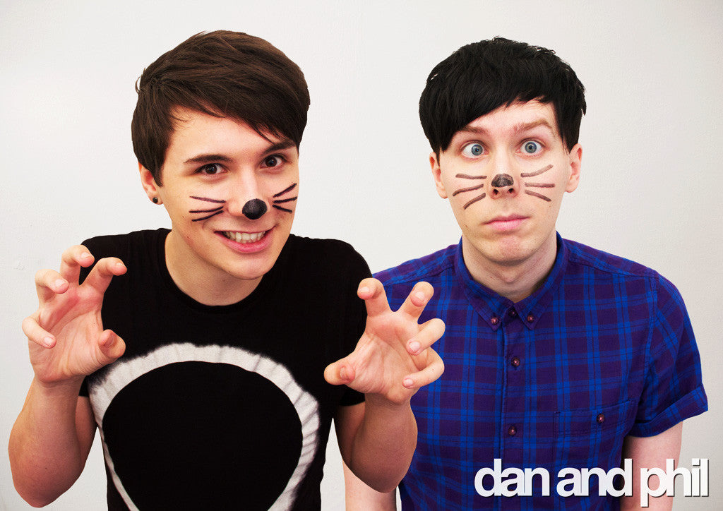 Dan and Phil Photo Poster
