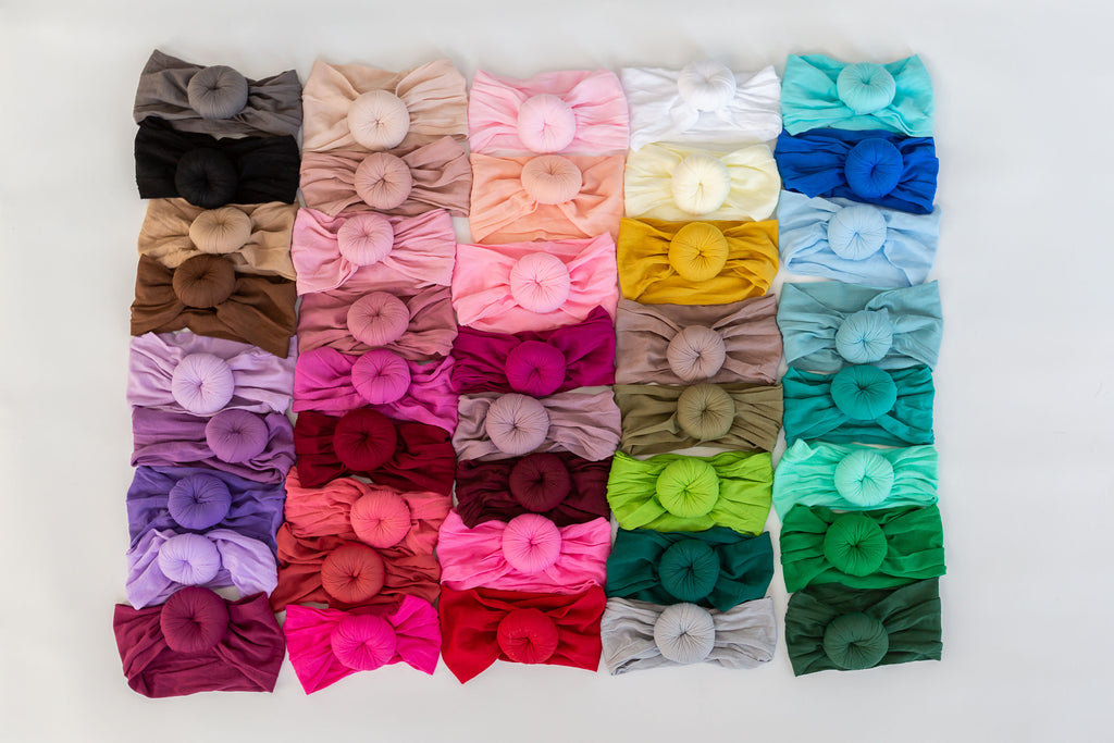 Ballet Bun Nylon Headwraps- Solid Colors