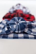 Ballet Bun Nylon Headwraps- Buffalo Prints