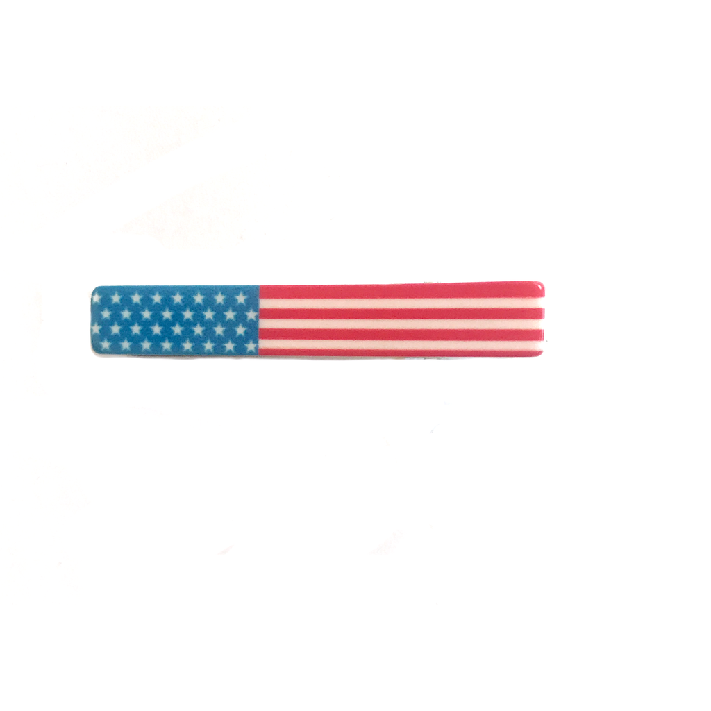 Large Bar Clip- American Flag