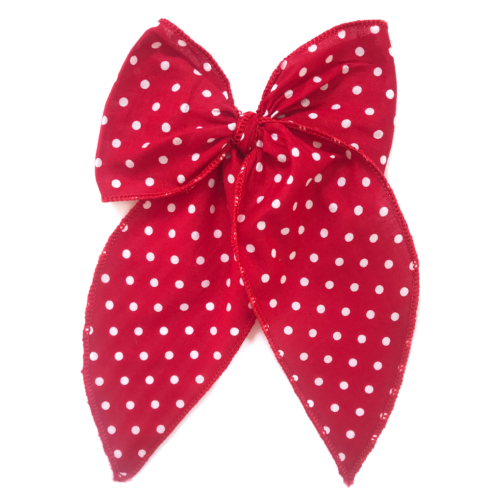Cameryn - Red with White Dots