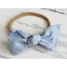 Canvas Knot Nylon Headbands