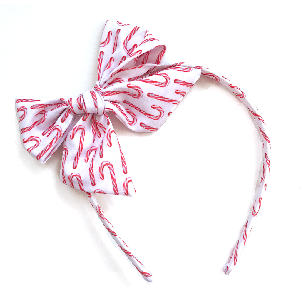 Collette Headband- Candy Cane