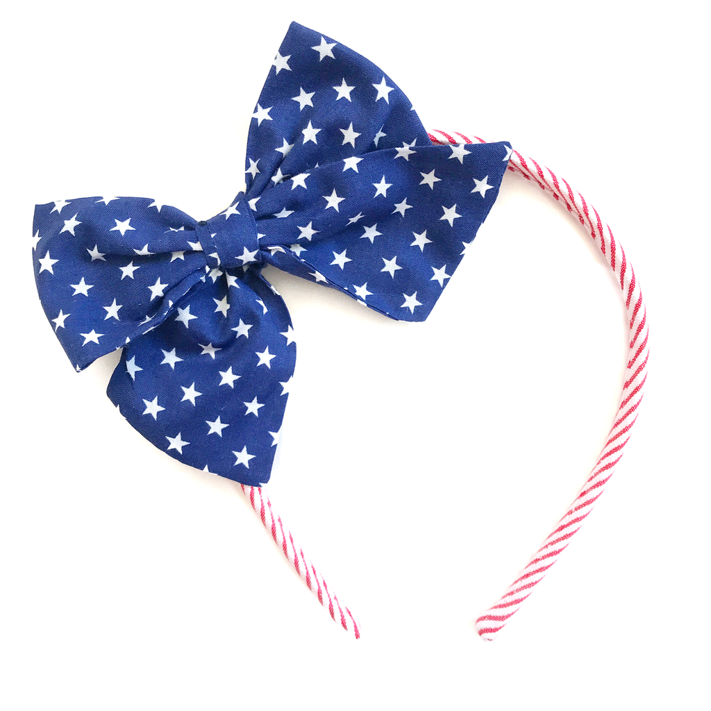 Collette Headband-Stars and Stripes