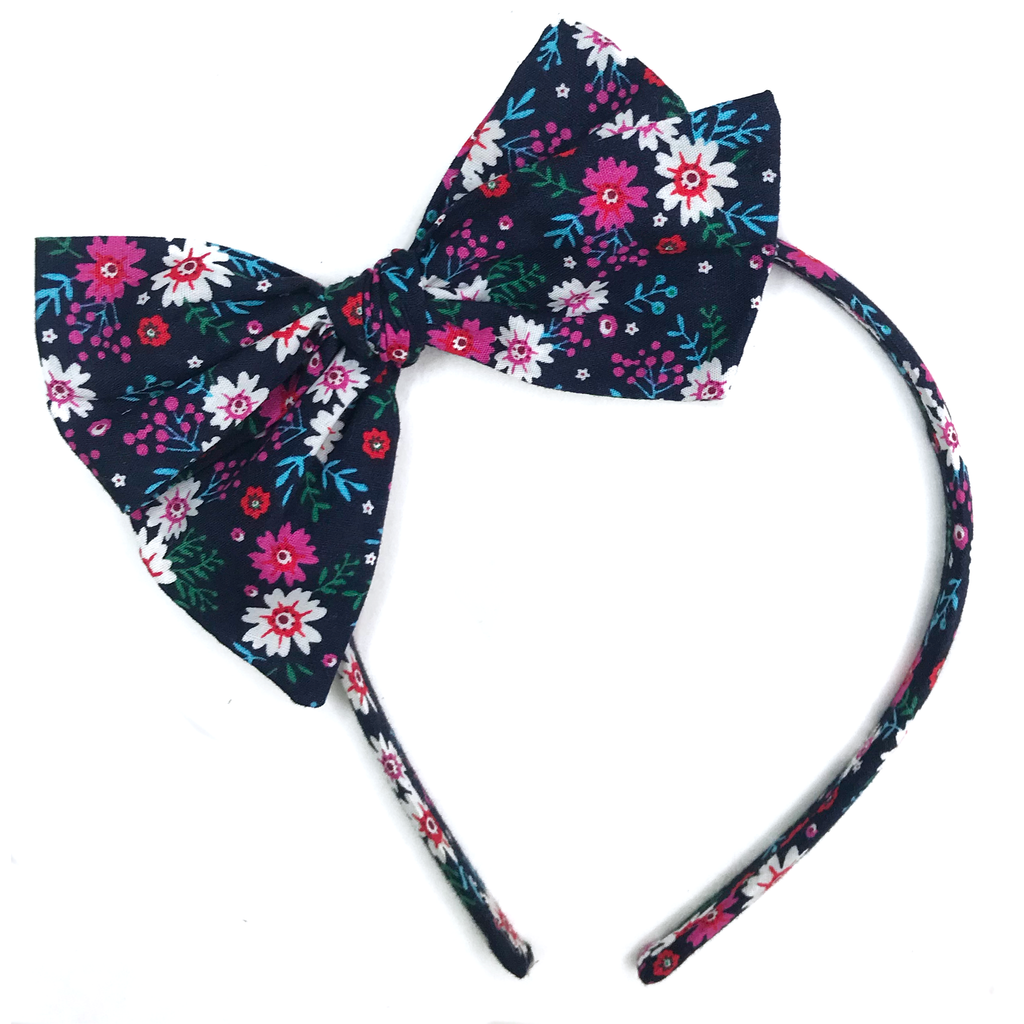Collette Headband- Winter Floral
