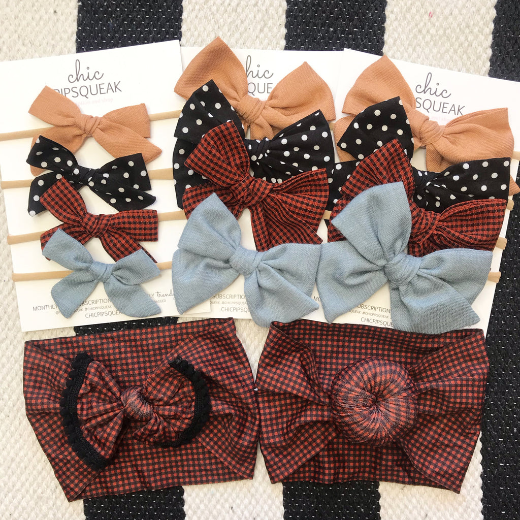October 2019 Bow Set
