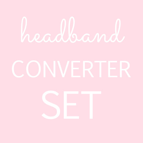 Nylon Headband Clip Converter Set
