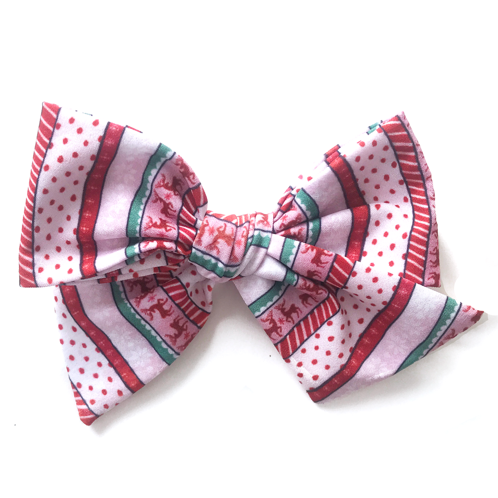 Hand Tied Bow - 2020 Fair Isle MONTHLY SPECIAL!!!