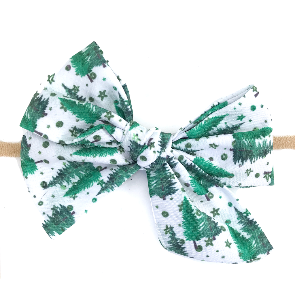 Hand Tied Bow - Pine Forest