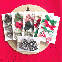 Skinny Holiday Bows, Add on December Bows