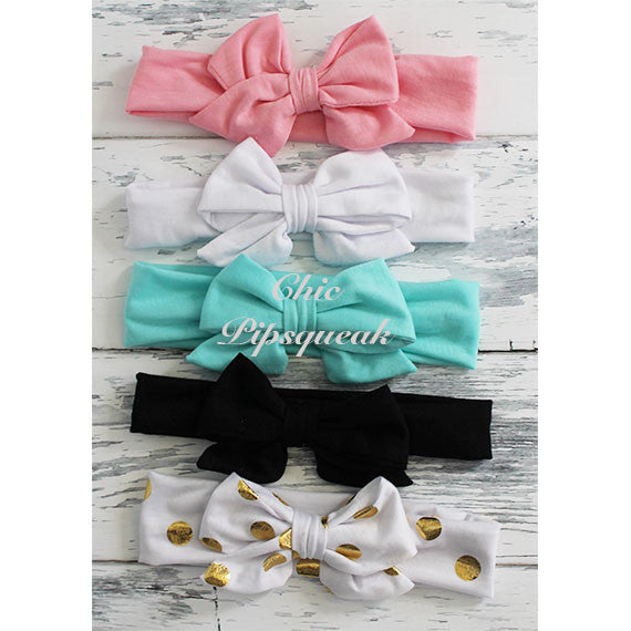 Madison Bow Headwrap Headband