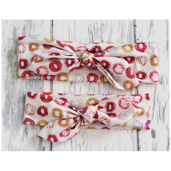 Top Knot Headband, Donut