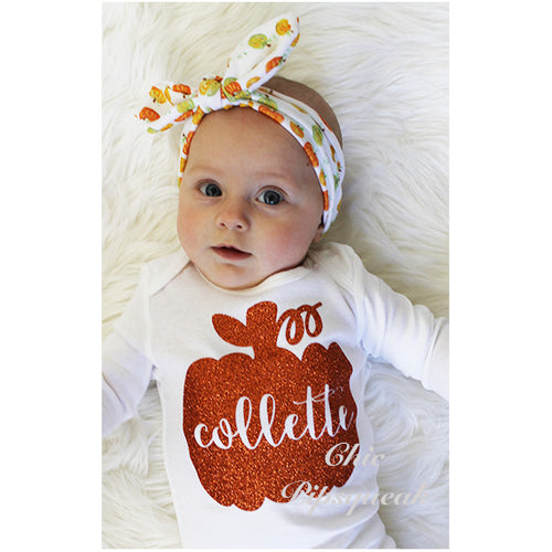 Fall Thanksgiving Baby Bodysuit