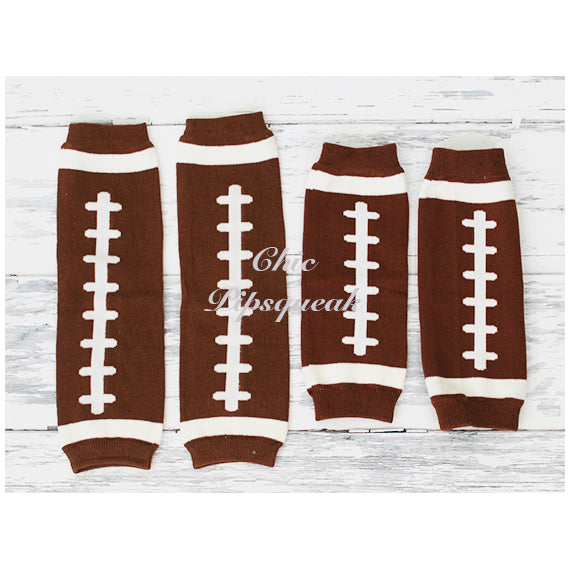 Copy of Baby and Kids Leg Warmers Football