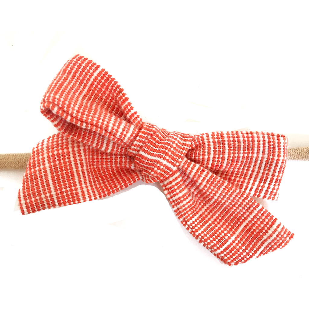 Petite Hand-Tied Bow - Sweet Carrotline