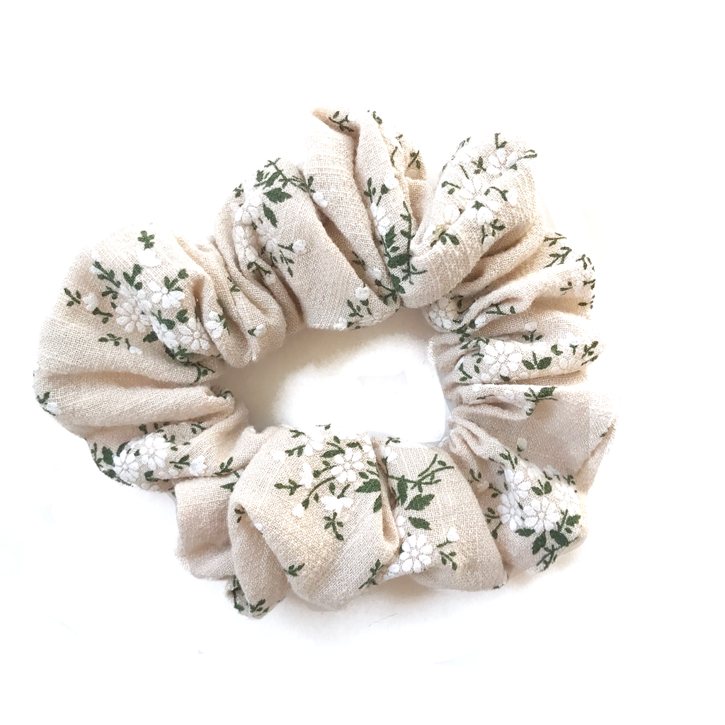 Scrunchie- Fall Natural Floral
