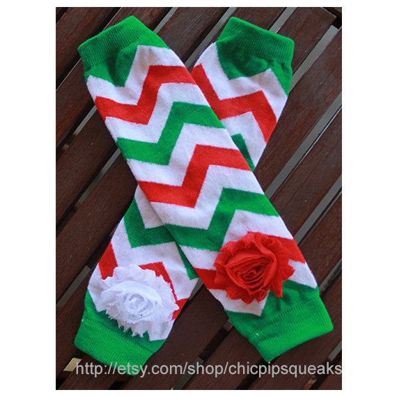 Christmas Chevron BabyToddler and Kids Chevron Leg Warmers, Christmas Leg Warmers, Baby First Christmas, Christmas Gifts Baby