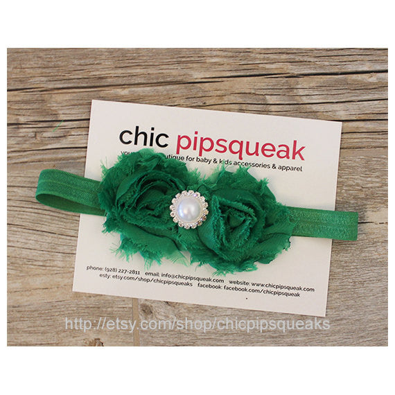Saint Patrick's Headband, Saint Patrick's Baby Headband, Baby Headband, Girls Headband, Birthday Headband, Girls Birthday, St Patty's Day