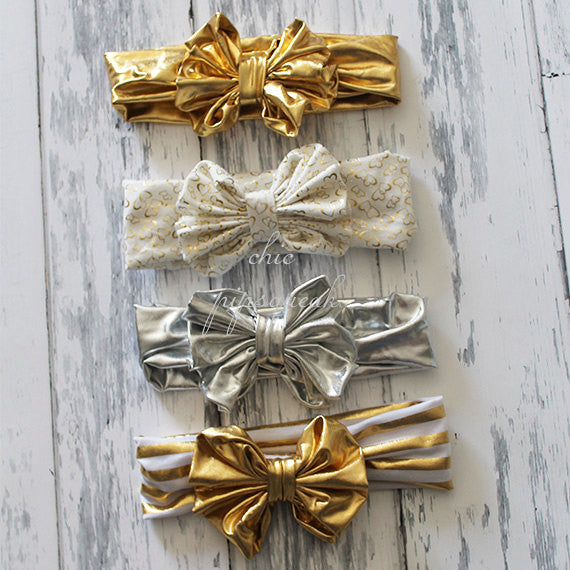Sequin Bow Headband, Floppy Bow Headband, Big Bow Headband, Baby Headband, Baby Headwrap, Bow Headwrap, Top Knot, Top Knot Headwrap, Baby
