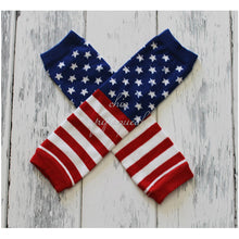 Flag Leg Warmers, 4th of July Leg Warmers, Red White Blue Leg Warmers, Patriotic Leg Warmers, Baby Leggings, Baby Leg Warmers, 4th of July