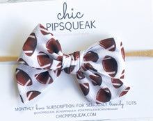 Football Hand-Tied Bow