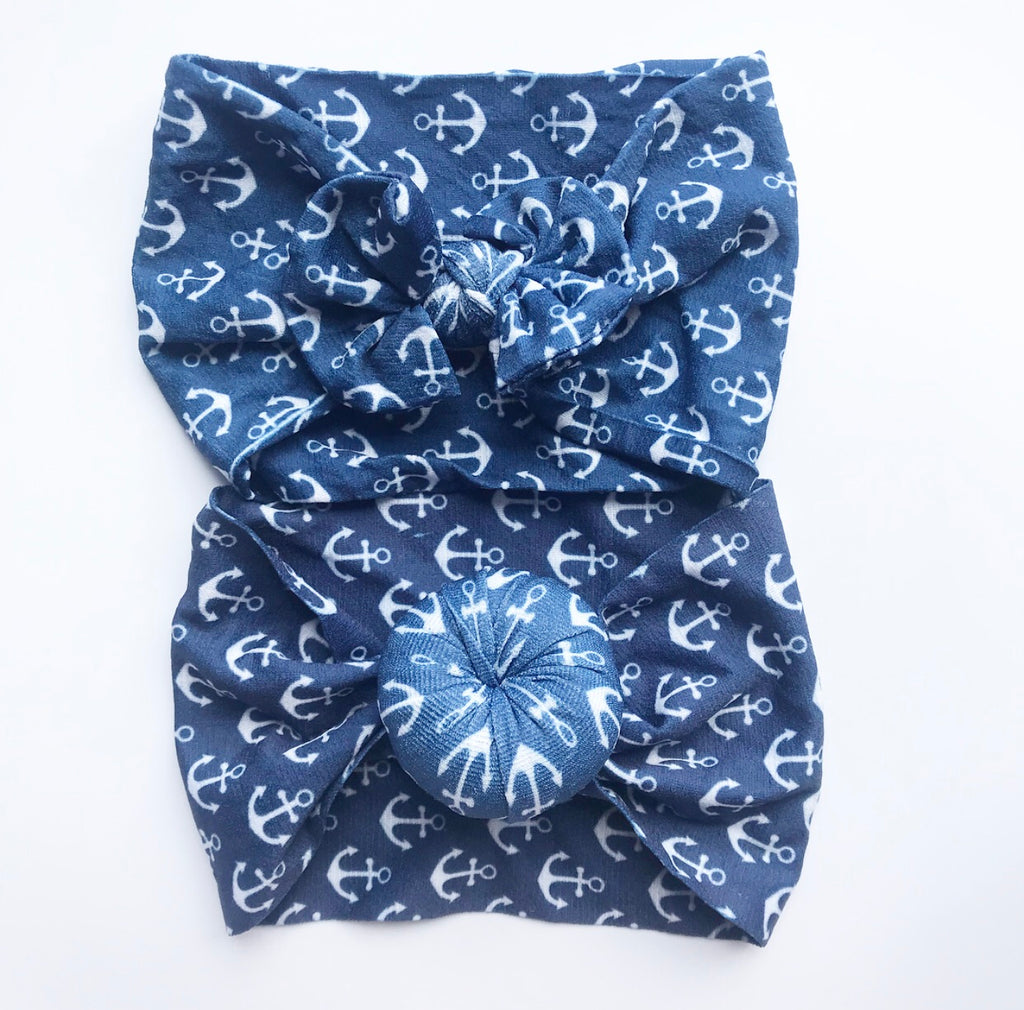 Nylon Headwraps- Anchor