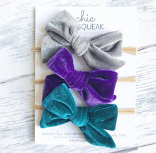 Velvet Bundle- Gray, True Purple and Jade