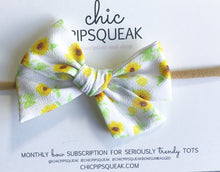 Sunflowers Hand-Tied Bow