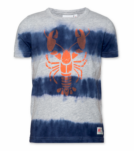 T-shirt Tie and Dye Lobster