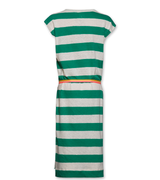 T-shirt Striped Dress Green