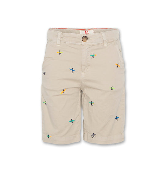 Barry Chino Shorts Surfers - Beige