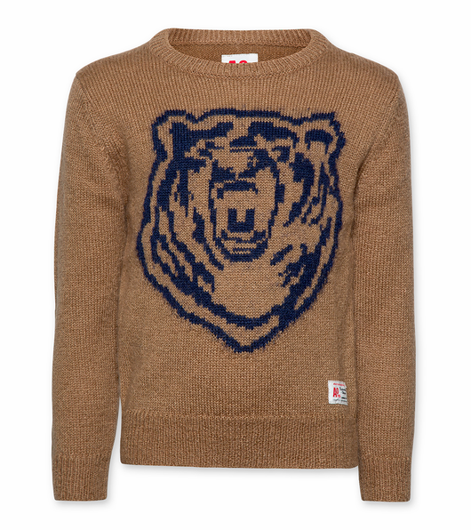 C-neck Bear Knitwear