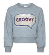 C-neck Sweater Groovy