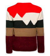 C-neck Coloured Stripes