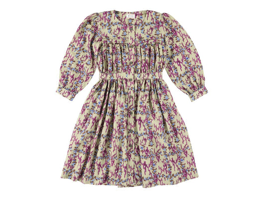 Karol Ikat Grape Girlsdress