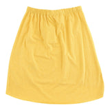 Maze Skirt Yolk Yellow
