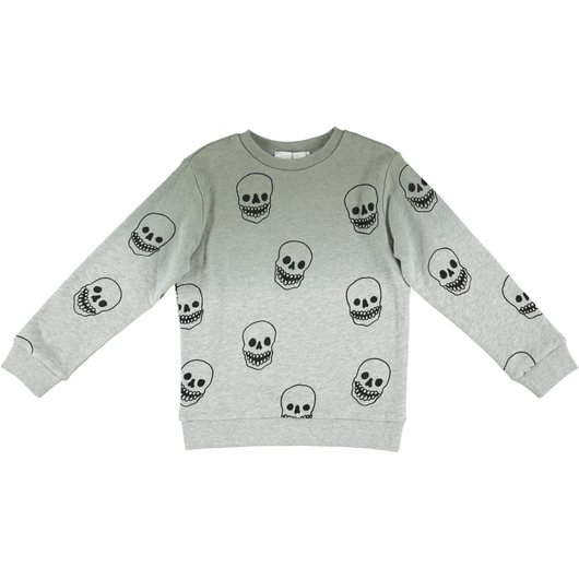 Biz Degrade Sweater Skull