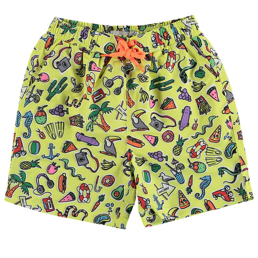 Toys & Food Swim Shorts