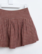 Amentine Skirt CheckA
