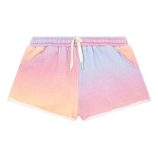 LAATSTE MAAT - Gradient Organic Cotton Shorts - Pink