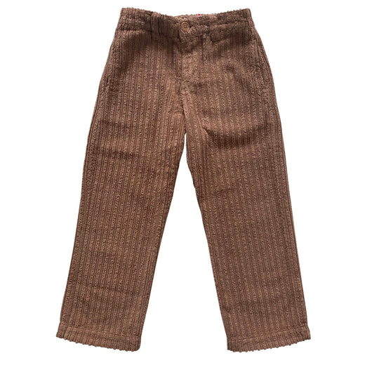 Minos Woven Trousers Copper