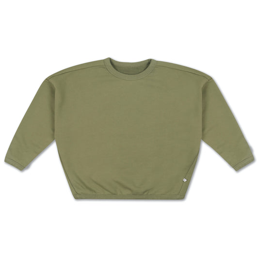Boxy Sweater loden green
