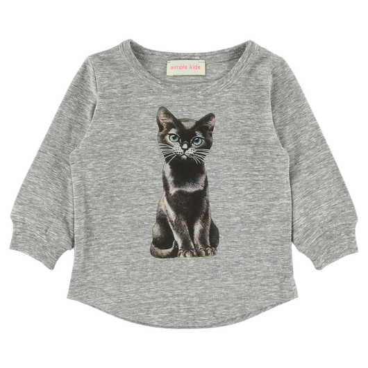 Meow Jersey Grey