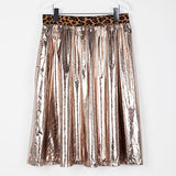 Fan Paper Skirt Silver Gold