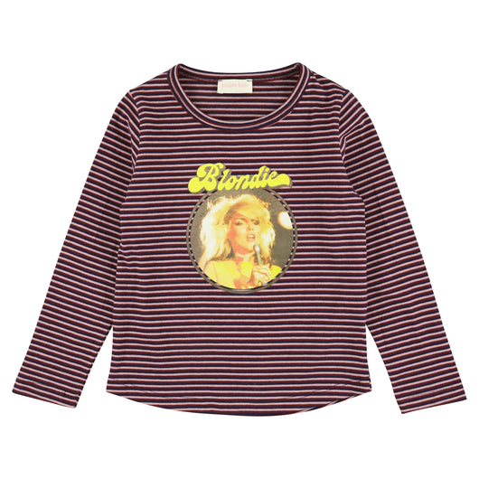Blondie Striped Plum