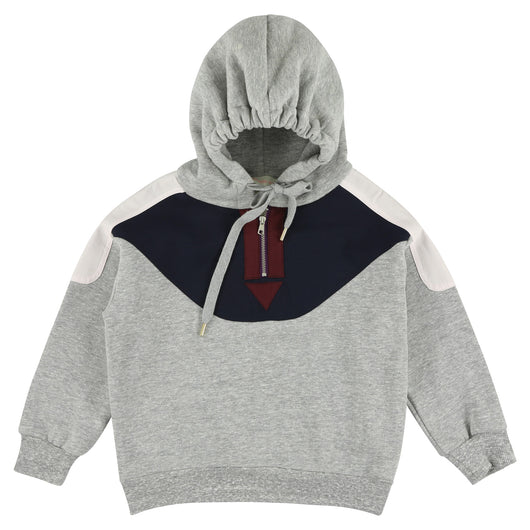 Hoodie Flanelle