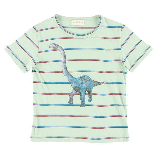 Dino Stripes Mint