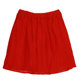 Mandy Skirt Flame Scarlet