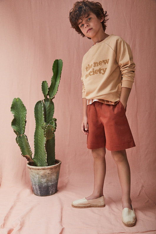 The New Society Sweater - Camel